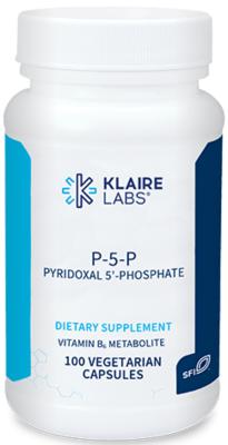 P-5-P,Klaire Labs,30 mg, 100 VEGETARIAN CAPSULES