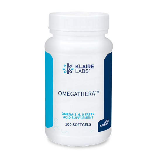 OMEGATHERA™,Klaire Labs,100 SOFTGELS