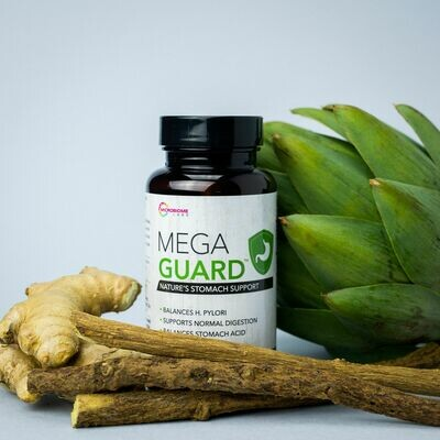 MegaGuard  60 capsules MicrobiomeLabs