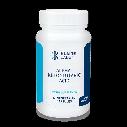 ALPHA-KETOGLUTARIC ACID 300 mg 60 capsules  Klaire Labs