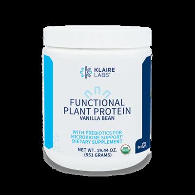 FUNCTIONAL PLANT PROTEIN VANILLA BEAN 19.44 OZ (551 G) POWDER Klaire Labs