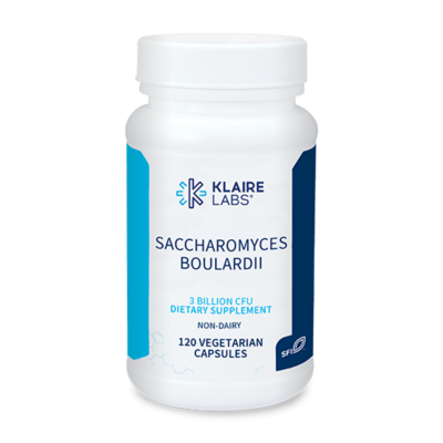SACCHAROMYCES BOULARDII, Klaire Labs,320 mg, 120 vegetarian capsules