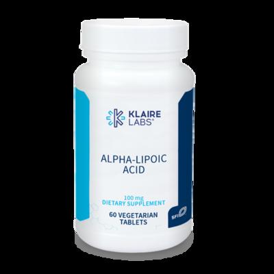 ALPHA-LIPOIC ACID  100 MG  60 capsules  Klaire Labs