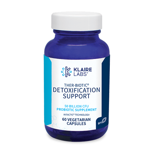 THER-BIOTIC® DETOXIFICATION SUPPORT,Klaire Labs,60 VEGETARIAN CAPSULES