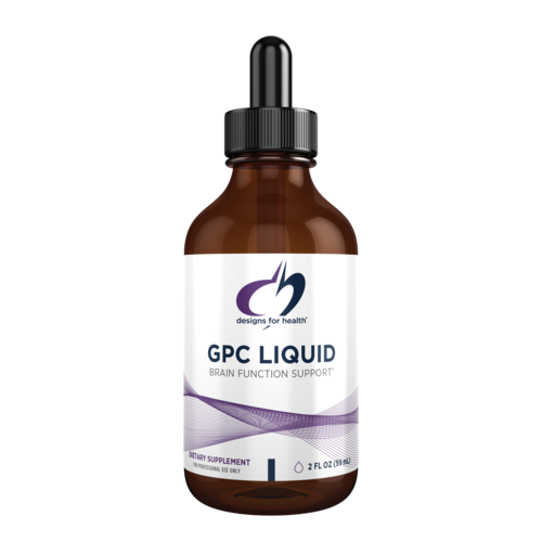 GPC Liquid Glycerophosphocholine,Design for Health ,59 ml