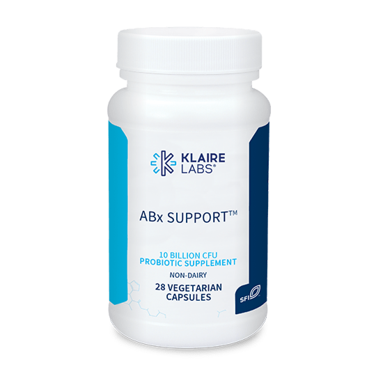 ABX SUPPORT 400 mg 28 veg capsules  Klaire Labs