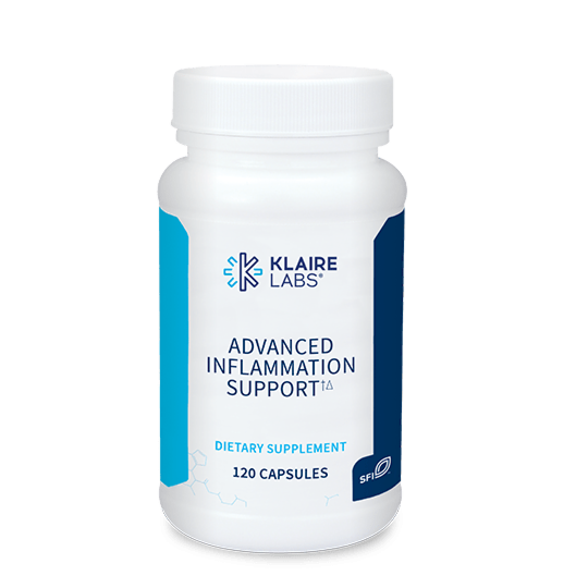 ADVANCED INFLAMMATION SUPPORT  120 CAPSULES   Klaire Labs