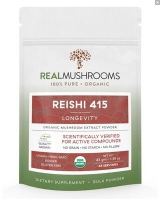 Reishi 415  Bulk Powder 45 g  Real Mushrooms