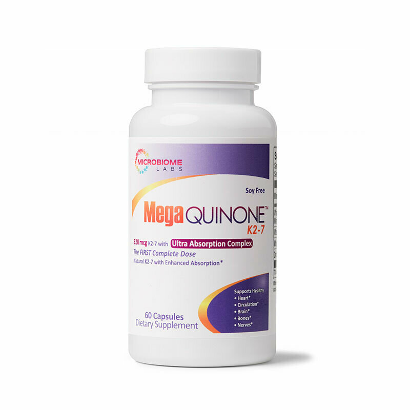 MegaQuinone K2-7 ,Microbiome Labs 60 capsules