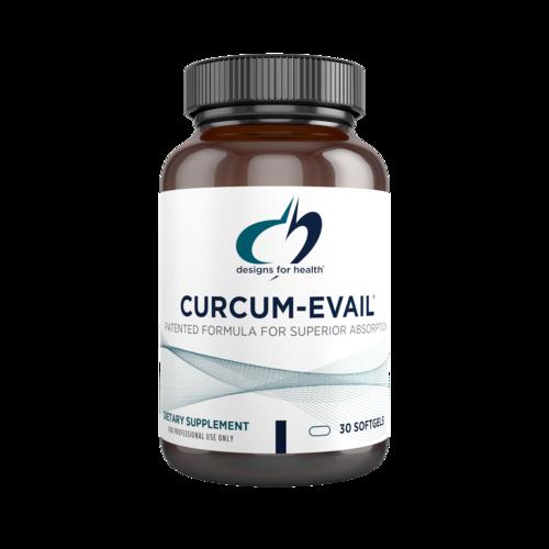 Curcum-Evail 30 capsules Designs for Health