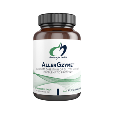 AllerGzyme ™ Designs for Health 60 capsules