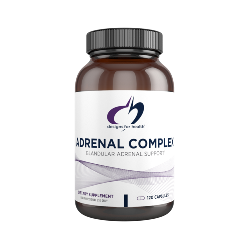 Adrenal Complex 100 mg 120 Capsules Designs for Health