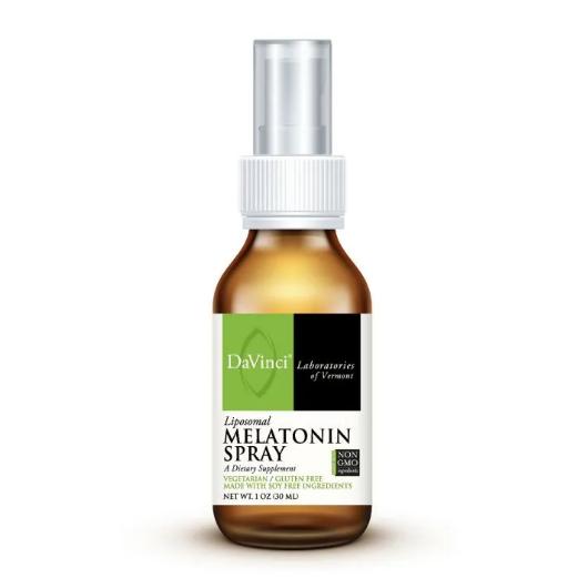 LIPOSOMAL MELATONIN SPRAY ,DaVinci Laboratories ,3 mg, 30 ml