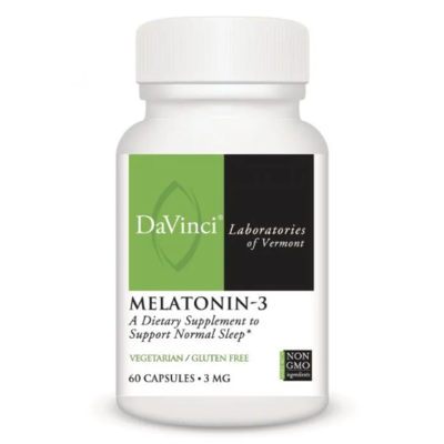 MELATONIN-3 DaVinci Laboratories ,3 mg, 60 Capsules