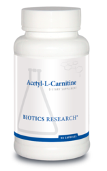Acetyl-L-Carnitine 500 mg 90 capsules Biotics Research