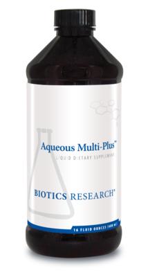 Aqueous Multi-Plus 480 ml Biotics Research