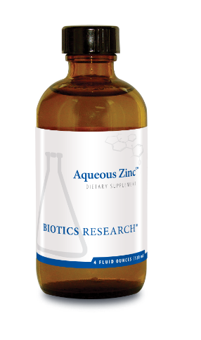 Aqueous Zinc (4 oz) Biotics Research