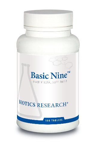 Basic Nine 100 tablets Biotics Research