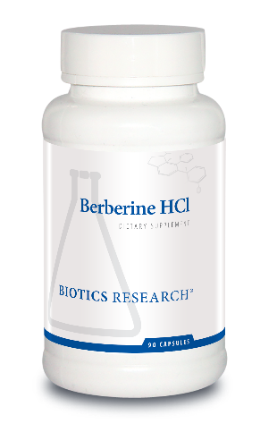 Berberine HCl 90 capsules  Biotics Research