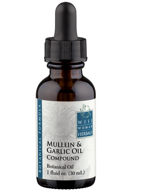 Mullein & Garlic Oil Compound