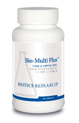 Bio-Multi Plus Fe & Cu Free 90 tablets Biotics Research