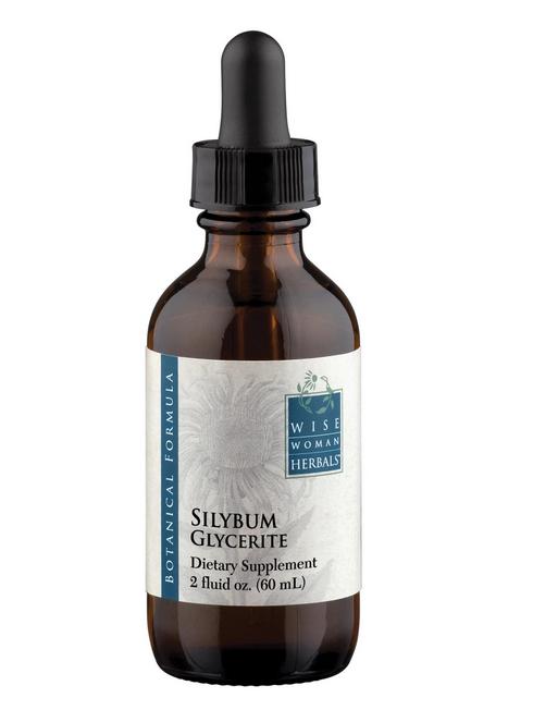 Silybum Glycerite/milk thistle 60 ml Wise Woman Herbals