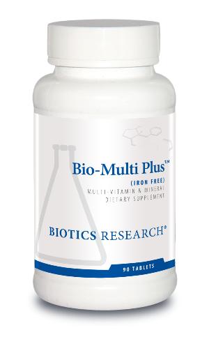 Bio-Multi Plus Iron Free 90 tablets Biotics Research