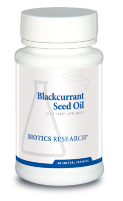 Blackcurrant Seed Oil 60 capsules  Biotics Research