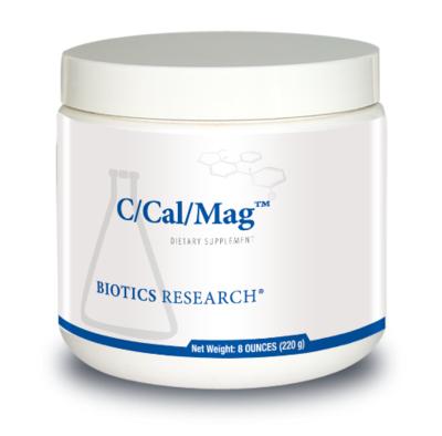 C/Cal/Mag Powder 220 g  Biotics Research