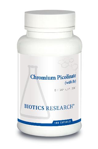 Chromium Picolinate 100 Capsules Biotics Research