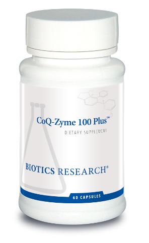 CoQ-Zyme 100 Plus 60 Capsules Biotics Research