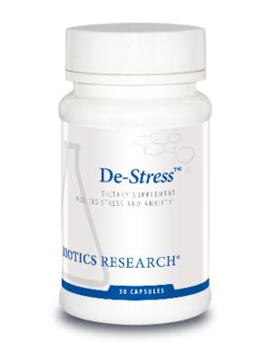 De-Stress™ 30 Capsules Biotics Research
