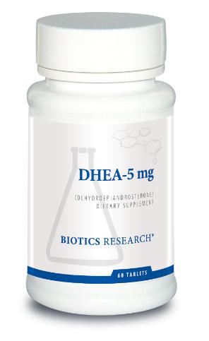 DHEA 5 mg 60 Tablets Biotics Research