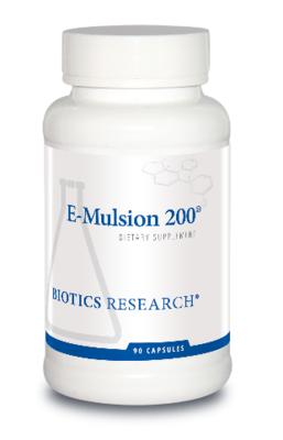 E-Mulsion 200, 90 Capsules Biotics Research