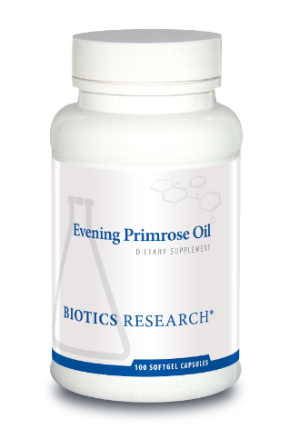 Evening Primrose Oil 100 Capsules  Biotics Research