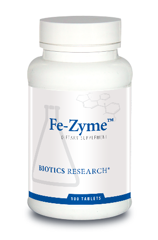Fe-Zyme™ (100 T), Biotics Research