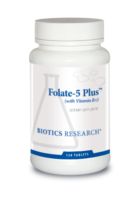 Folate-5 Plus™ (with B12) (120 T)