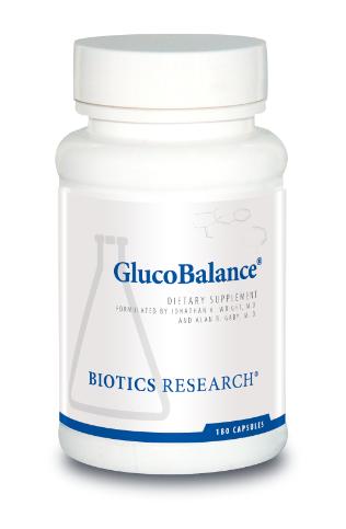 GlucoBalance  180 Capsules  Biotics Research