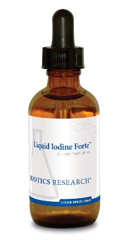 Liquid Iodine Forte 60 ml Biotics Research