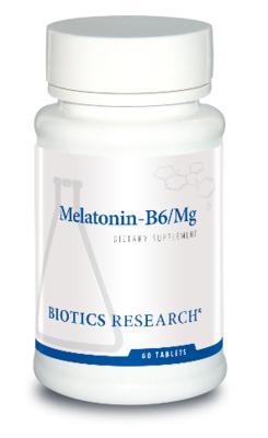 Melatonin-B6/Mg  5 mg 60 tablets Biotics Research