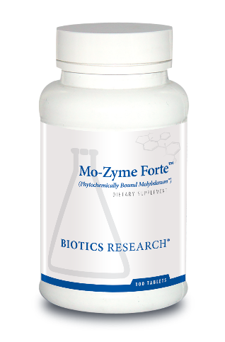 Mo-Zyme Forte (Molybdenum) 100 Tablets Biotics Research