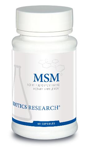 MSM 830 mg 60 capsules Biotics Research