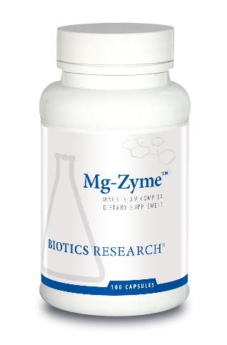 Mg-Zyme  (Magnesium) 100 Capsules Biotics Research