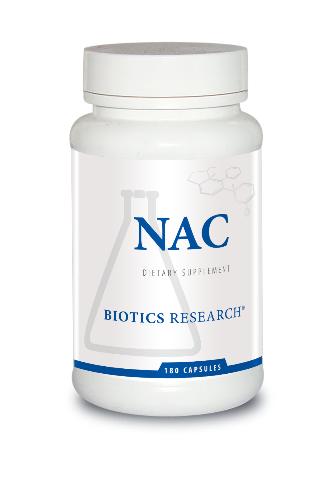 NAC 500 mg 180 capsules  Biotics Research
