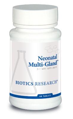 Neonatal Multi-Gland 60 Tablets Biotics Research
