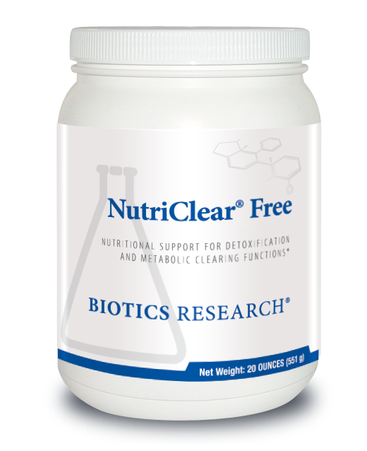 NutriClear  Free (20 oz) Biotics Research