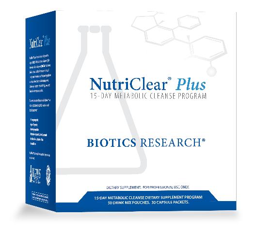 NutriClear® Plus(Детокс) Biotics Research 30 пакетов