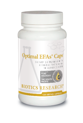 Optimal EFAs Caps 120 Capsules  Biotics Research