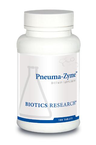 Pneuma-Zyme  100 Tablets Biotics Research