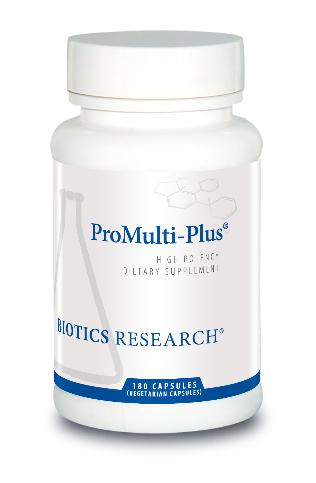 ProMulti-Plus  180 Capsules  Biotics Research